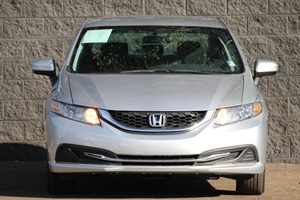 2014 Honda Civic Sedan LX  Alabaster Silver Metallic  We are not responsible for typographical