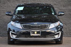 2013 Kia Optima Hybrid EX Carfax 1-Owner - No AccidentsDamage Reported  Aurora Black Pearl  W