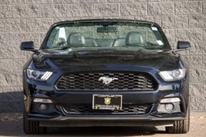 2016 Ford Mustang EcoBoost Premium Carfax 1-Owner - No AccidentsDamage Reported  Shadow Black