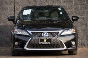 2014 Lexus CT 200h F-Sport Carfax 1-Owner - No AccidentsDamage Reported  Black  We are not re