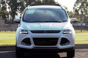 2014 Ford Escape Titanium Engine 20L Ecoboost White Platinum Tricoat  All advertised prices e