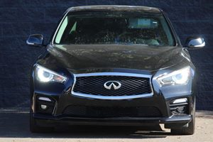 2015 INFINITI Q50 Sport Carfax 1-Owner - No AccidentsDamage Reported  Black  We are not respo