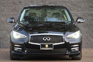 2014 INFINITI Q50 Premium Carfax 1-Owner - No AccidentsDamage Reported  Black  We are not res