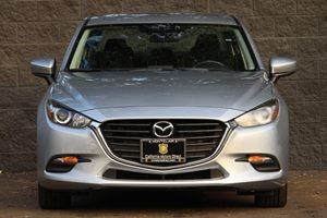 2017 Mazda Mazda3 4-Door Sport Carfax 1-Owner - No AccidentsDamage Reported  Sonic Silver Meta