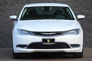 2015 Chrysler 200 Limited Carfax 1-Owner - No AccidentsDamage Reported  White  We are not res