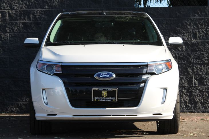 2014 Ford Edge Sport  White Platinum Metallic Tri-Coat All advertised prices exclude government