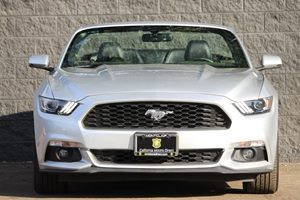 2017 Ford Mustang EcoBoost Premium Carfax 1-Owner - No AccidentsDamage Reported  Ingot Silver