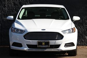 2015 Ford Fusion S Carfax 1-Owner - No AccidentsDamage Reported  Oxford White  We are not res