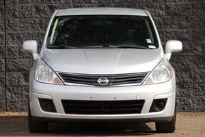 2012 Nissan Versa 18 S Carfax Report - No AccidentsDamage Reported  Brilliant Silver Metallic