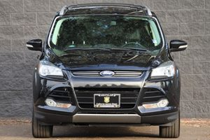 2015 Ford Escape Titanium  Tuxedo Black All advertised prices exclude government fees and taxes