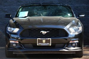 2016 Ford Mustang V6 Carfax 1-Owner - No AccidentsDamage Reported  Shadow Black  We are not r