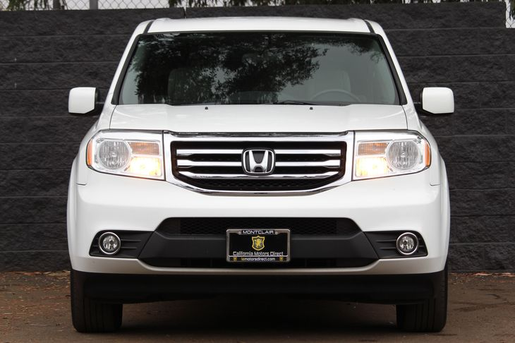 2015 Honda Pilot EX  Taffeta White All advertised prices exclude government fees and taxes any
