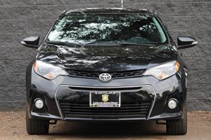 2015 Toyota Corolla S Carfax 1-Owner  Black Sand Mica  We are not responsible for typographica