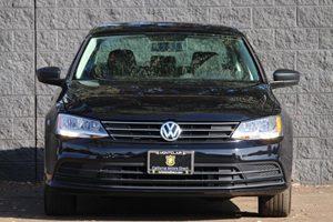 2015 Volkswagen Jetta Sedan S Carfax 1-Owner - No AccidentsDamage Reported  Platinum Gray Meta
