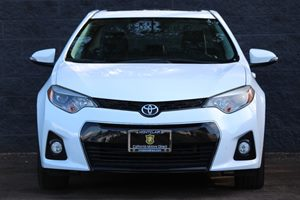 2014 Toyota Corolla S Carfax 1-Owner  Super White  We are not responsible for typographical er