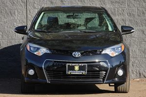 2015 Toyota Corolla S  Black Sand Mica  All advertised prices exclude government fees and taxes