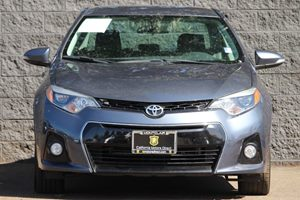 2015 Toyota Corolla S  Blue Crush Metallic  All advertised prices exclude government fees and t