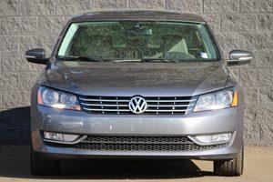 2015 Volkswagen Passat TDI SEL Premium Carfax 1-Owner - No AccidentsDamage Reported Audio Auxil