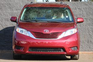 2016 Toyota Sienna LE Mobility 7-Passen Carfax 1-Owner  Salsa Red Pearl  We are not responsibl