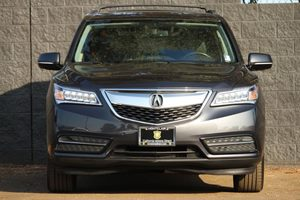 2015 Acura MDX wTech wRES Carfax 1-Owner - No AccidentsDamage Reported  Gray  We are not re