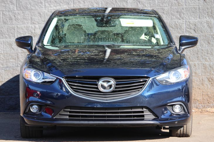 2015 Mazda Mazda6 i Grand Touring  Blue All advertised prices exclude government fees and taxes