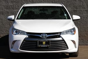 2015 Toyota Camry LE Carfax 1-Owner  Super White  We are not responsible for typographical err
