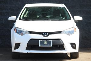 2015 Toyota Corolla L  Super White  All advertised prices exclude government fees and taxes an