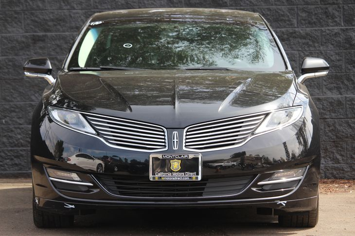 2015 Lincoln MKZ Base  Tuxedo Black Metallic All advertised prices exclude government fees and