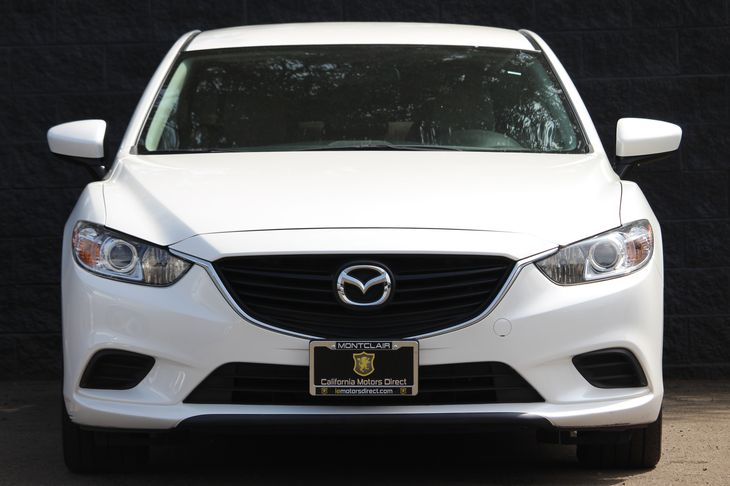 2015 Mazda Mazda6 i Sport  Snowflake White Pearl Mica All advertised prices exclude government