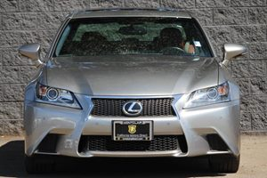 2015 Lexus GS 350 F-Sport  Atomic Silver  All advertised prices exclude government fees and tax