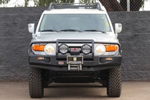 2007 Toyota FJ Cruiser Base Carfax Report  Silver  We are not responsible for typographical er
