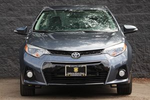 2015 Toyota Corolla S Plus  Blue Crush Metallic  All advertised prices exclude government fees