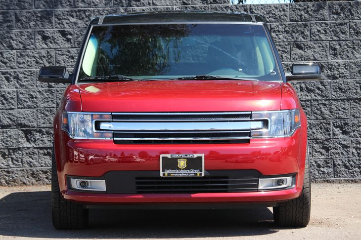 2014 Ford Flex SEL  Ruby Red Metallic Tinted Clearco All advertised prices exclude government f