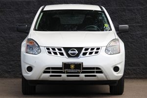 2014 Nissan Rogue Select S  Pearl White All advertised prices exclude government fees and taxes