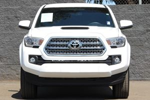 2017 Toyota Tacoma TRD Sport  Super White  All advertised prices exclude government fees and ta