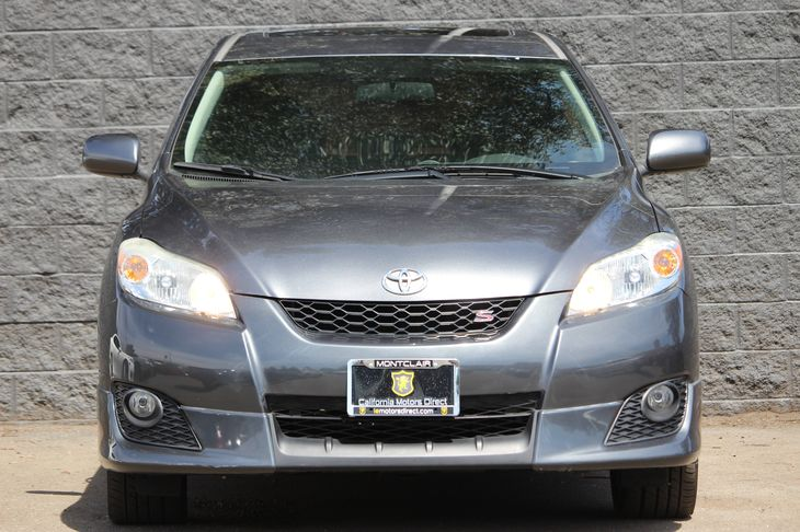 2009 Toyota Matrix S  Magnetic Gray Metallic All advertised prices exclude government fees and