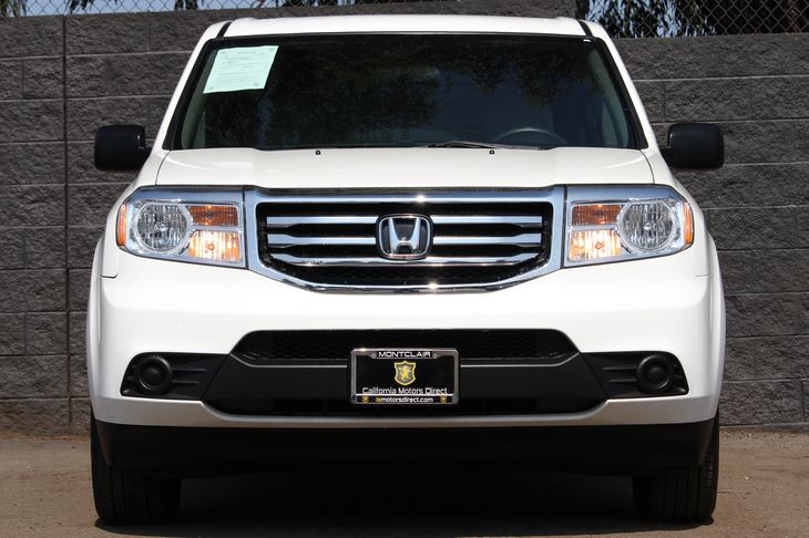 2015 Honda Pilot LX  Taffeta White All advertised prices exclude government fees and taxes any