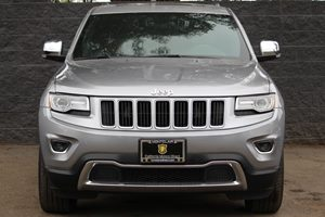 2015 Jeep Grand Cherokee Limited  Billet Silver Metallic Clearcoat All advertised prices exclud