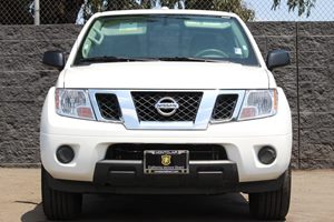 2017 Nissan Frontier SV  Glacier White  All advertised prices exclude government fees and taxes