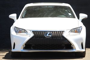 2015 Lexus RC 350 F-Sport  Ultra White All advertised prices exclude government fees and taxes