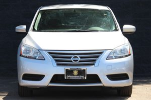 2014 Nissan Sentra SV  Brilliant Silver  All advertised prices exclude government fees and taxe