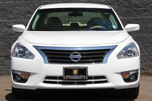 2015 Nissan Altima 25 SV  White  All advertised prices exclude government fees and taxes any