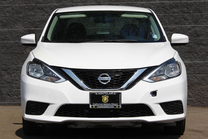 2016 Nissan Sentra S  White All advertised prices exclude government fees and taxes any financ
