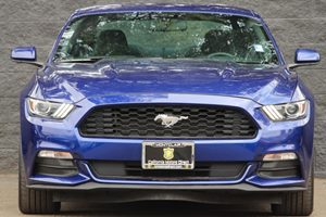 2015 Ford Mustang V6  Deep Impact Blue Metallic All advertised prices exclude government fees a