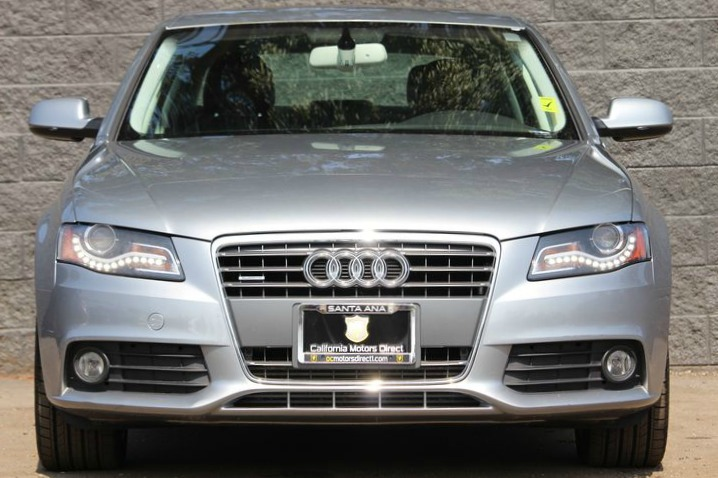 2011 Audi A4 20T quattro Premium Rear Side Airbags Audio Auxiliary Audio Input Audio Premium