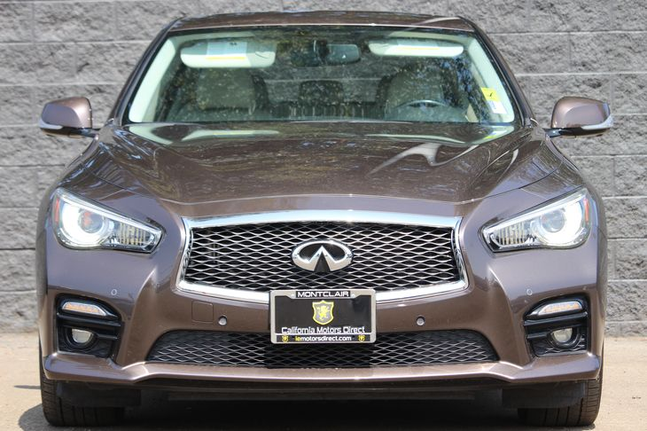 2014 INFINITI Q50 Sport  Brown All advertised prices exclude government fees and taxes any fin