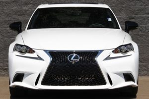 2015 Lexus IS 250 Crafted Line  Ultra White All advertised prices exclude government fees and t