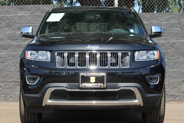 2015 Jeep Grand Cherokee Limited  Black All advertised prices exclude government fees and taxes