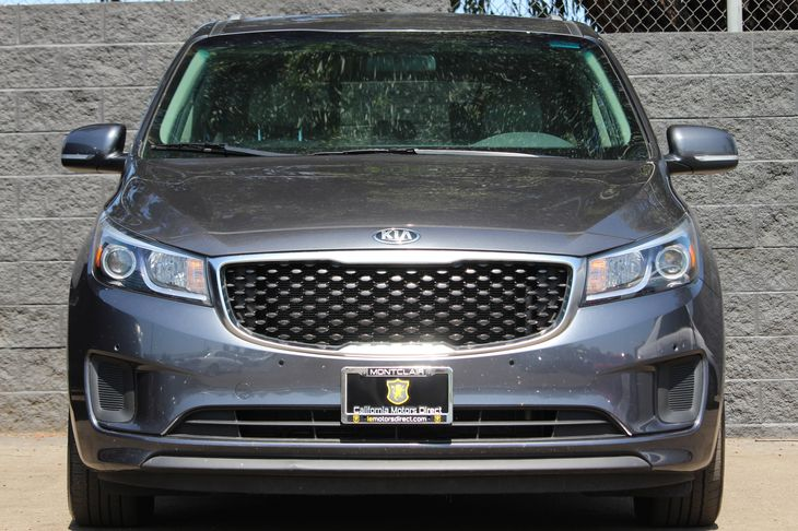 2017 Kia Sedona LX  Gray All advertised prices exclude government fees and taxes any finance c