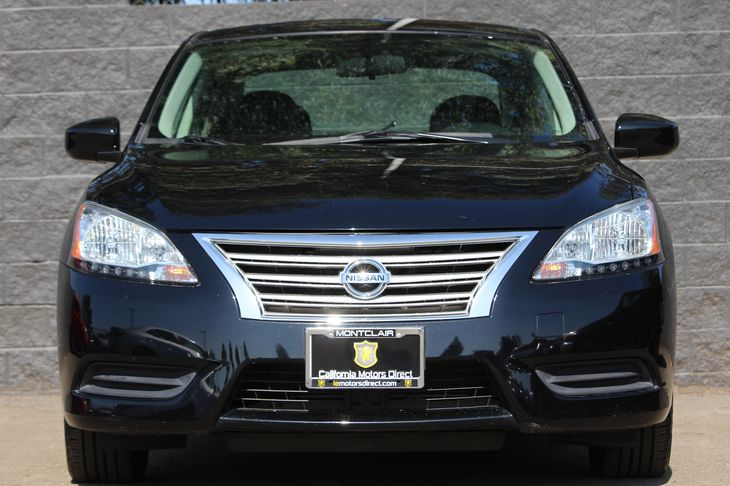 2014 Nissan Sentra S  Super Black All advertised prices exclude government fees and taxes any